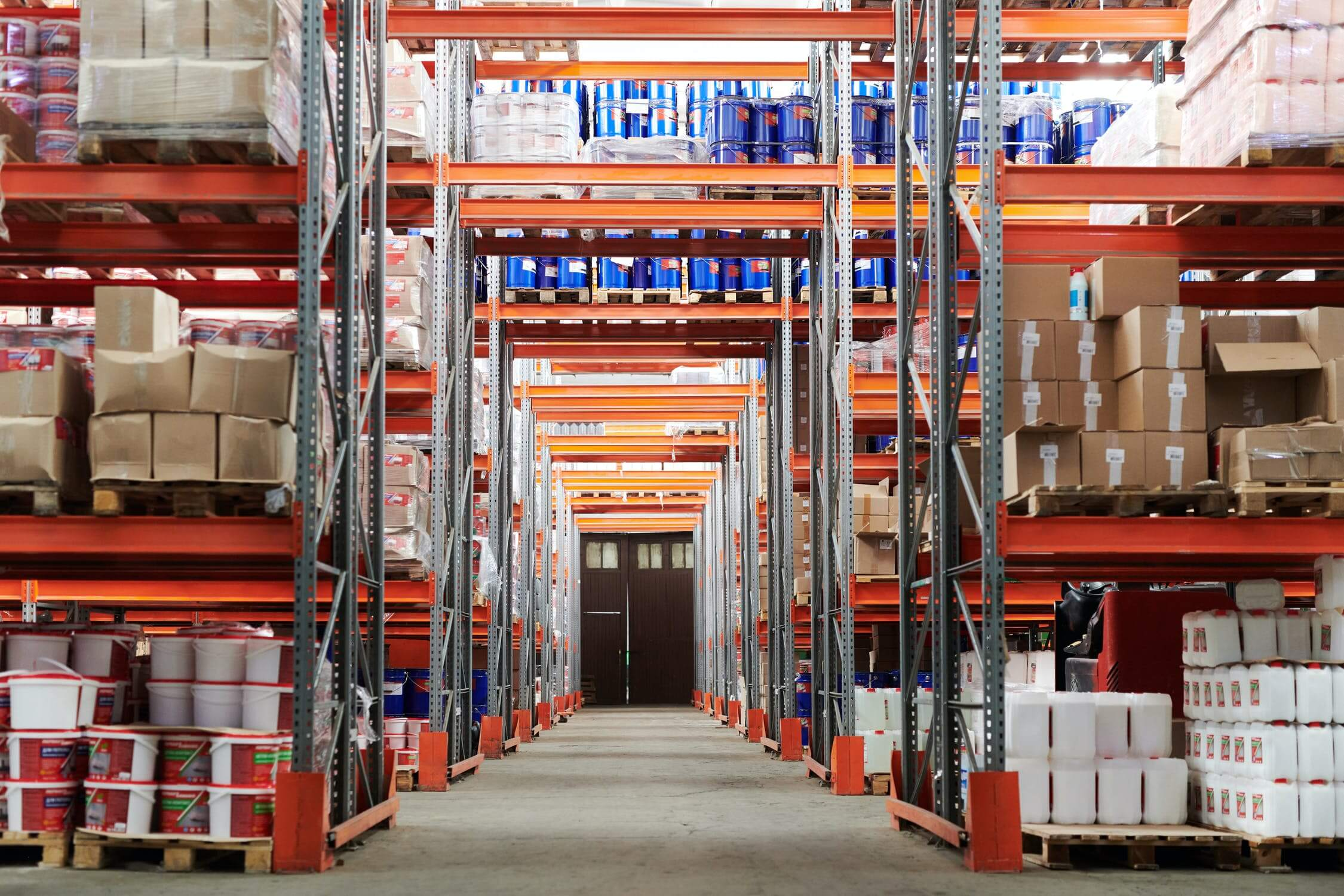 commercial floor cleaning warehouses